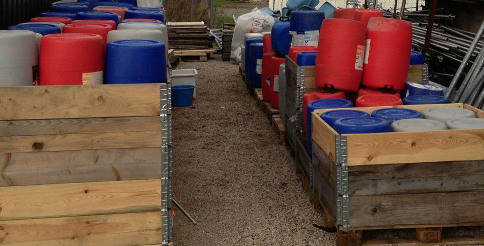 Unité de recyclage pour donner naissance à de nouveaux produits