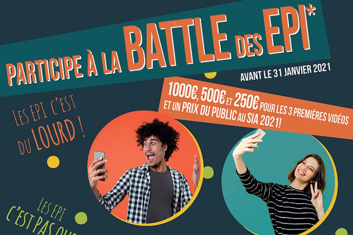 """""""Battle EPI"""" : le concours vidéo récompense 4 gagnants !"""